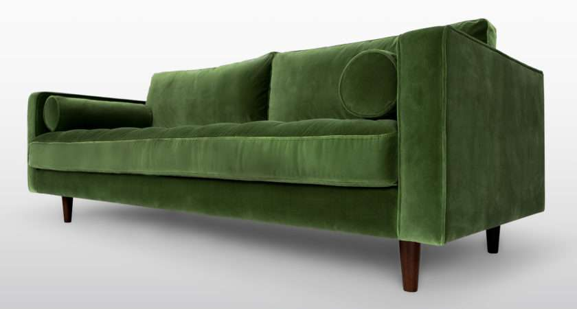 Modern Green Sofa Leather Colours