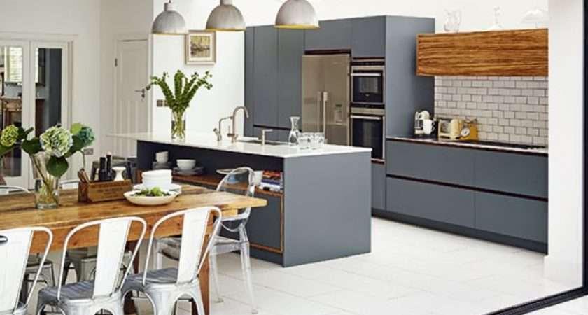 Modern Grey Kitchen Ideas Housetohome