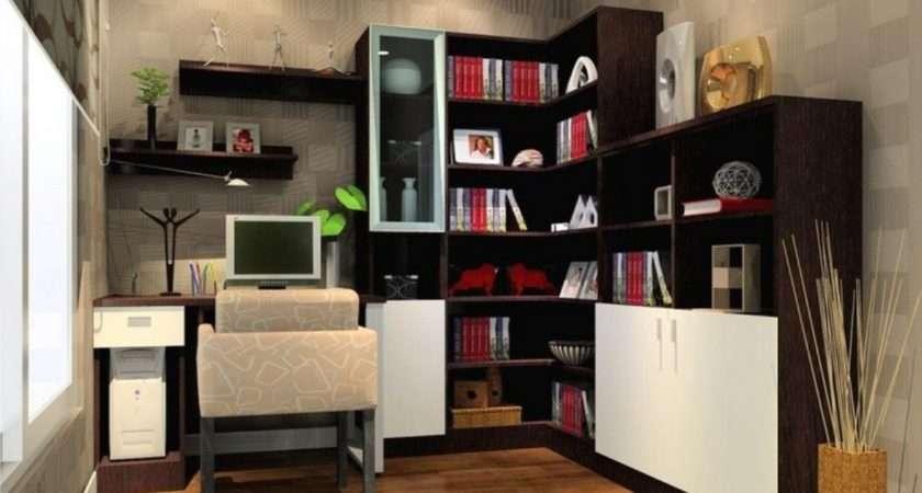 Modern Home Office Desks Small Space Interior Design