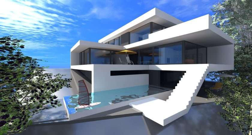 Modern Houses Minecraft House