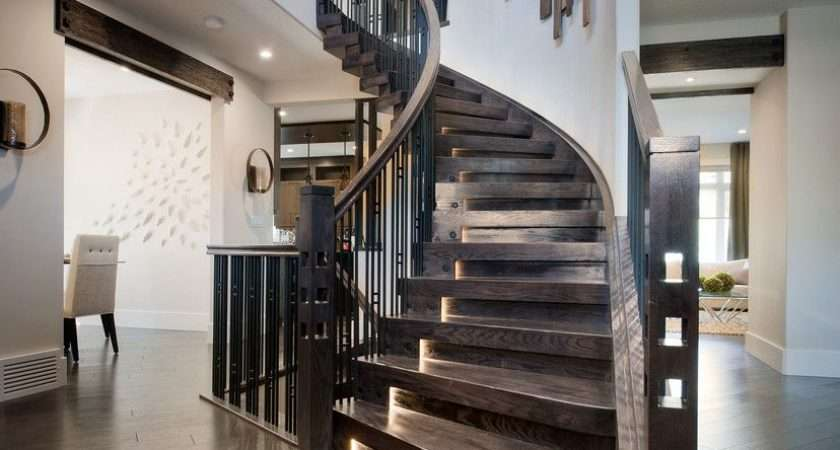 Modern Interior Staircase Materials