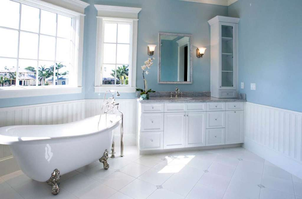 Modern Light Blue Bathroom Ideas Interior Design Style Homes