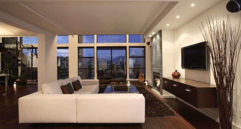 Modern Living Room Apartment Design