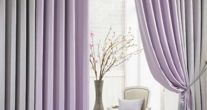 Modern Living Room Blackout Function Multi Colors Curtains