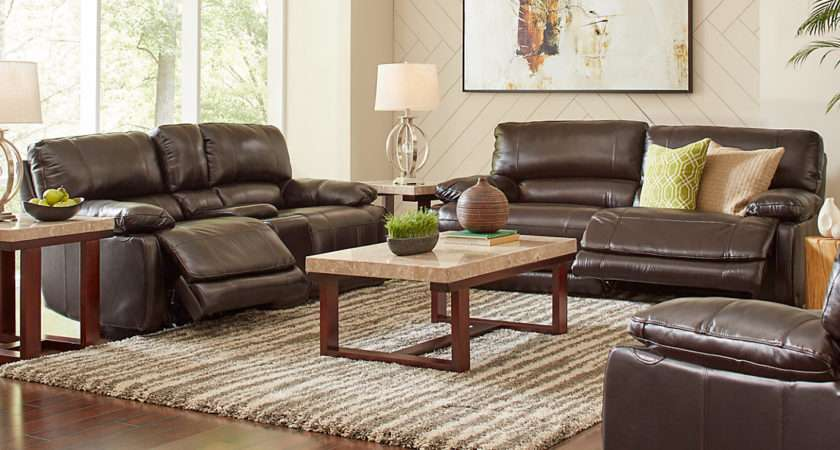 Modern Living Room Ideas Brown Leather Sofa Curtain