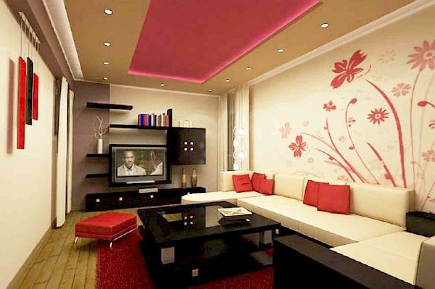 Modern Living Room Paint Ideas Accent Wall Listed