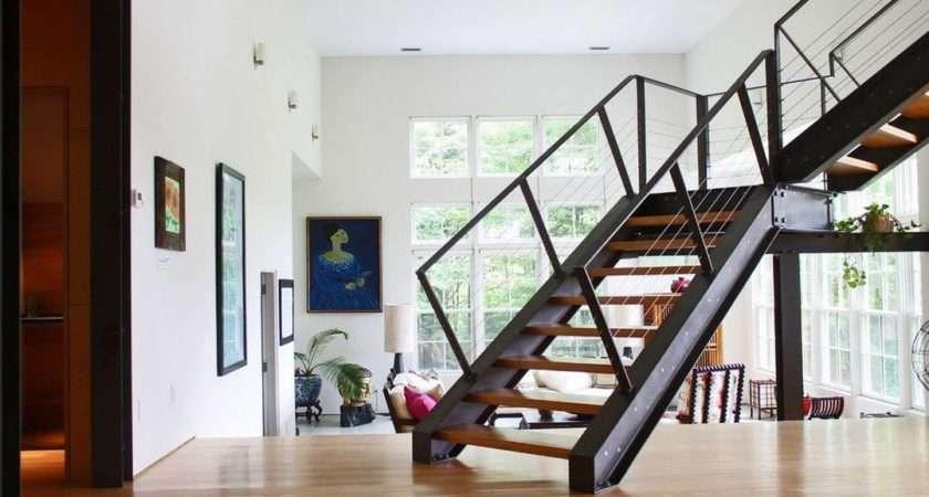 Modern Metal Steel Stairs Design Ideas