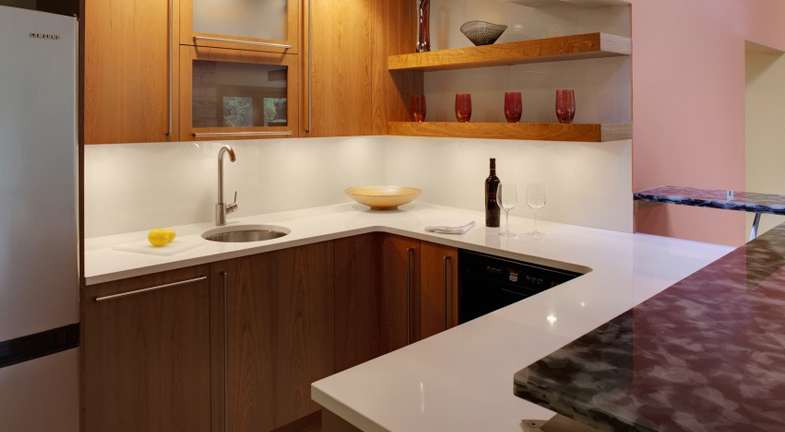 Modern Minimal Wet Bar Designs Steal Look