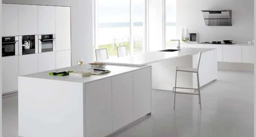 Modern Minimalist Kitchen Design Classic Elegance