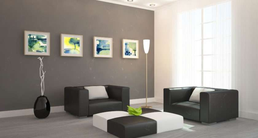Modern Paintings Living Room Abstract Like