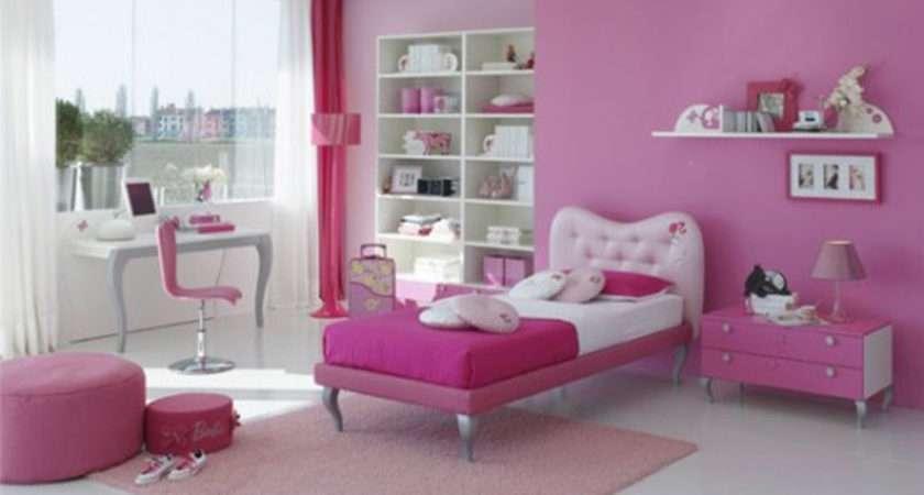 Modern Pink Girls Room Inspiration Iroonie