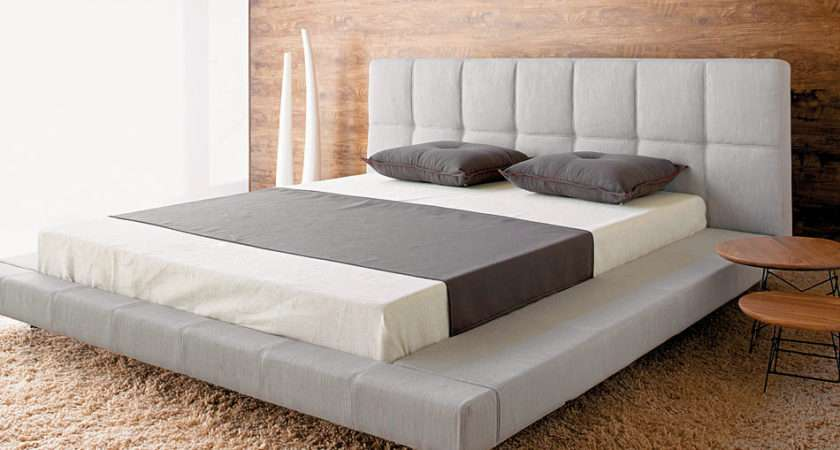 Modern Platform Bed Frame Design Plans Ideas