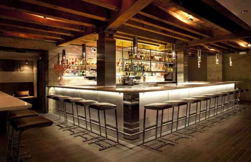 Modern Restaurant Bar Design Minimalist
