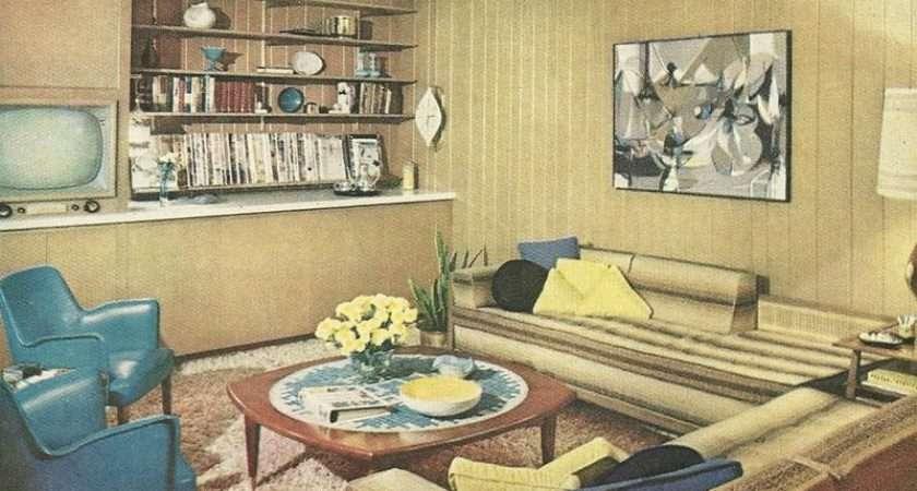 Modern Retro Decor Decorating Style Apartment