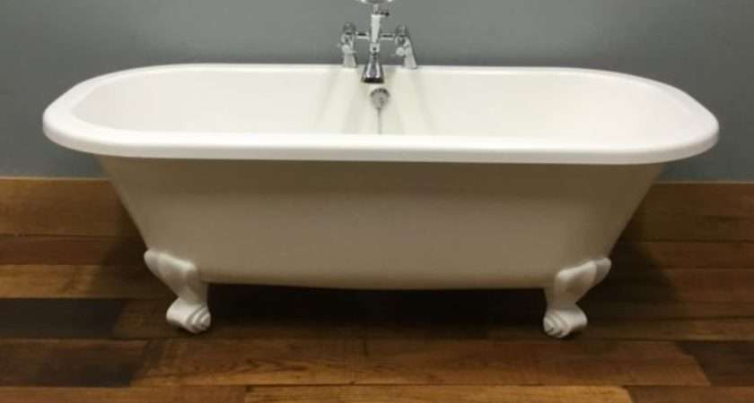 Modern Roll Top Bath Feet Taps Authentic Reclamation