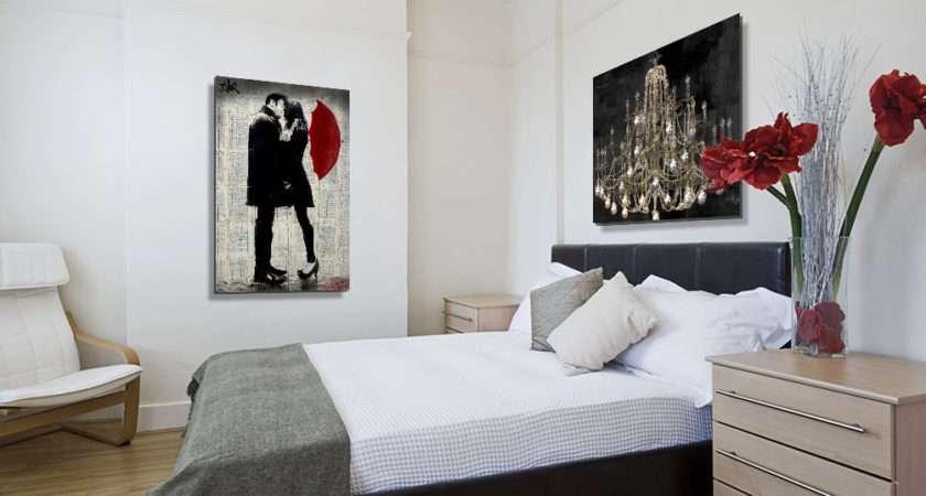 Modern Romantic Bedroom Art Prints Icanvas