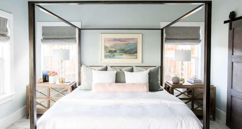 Modern Romantic Master Bedroom