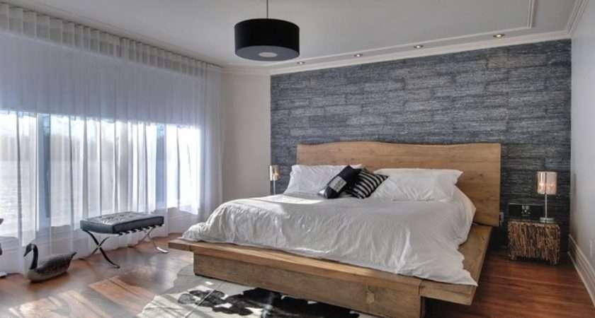 Modern Rustic Master Bedroom Contemporary