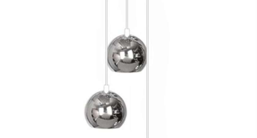 Modern Silver Chrome Way Multi Ceiling Pendant Light