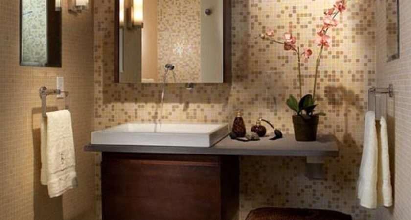 Modern Small Bathroom Ideas Tile Wall Decor Design Space