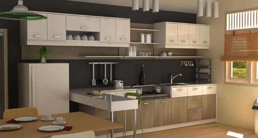 Modern Small Kitchen Other