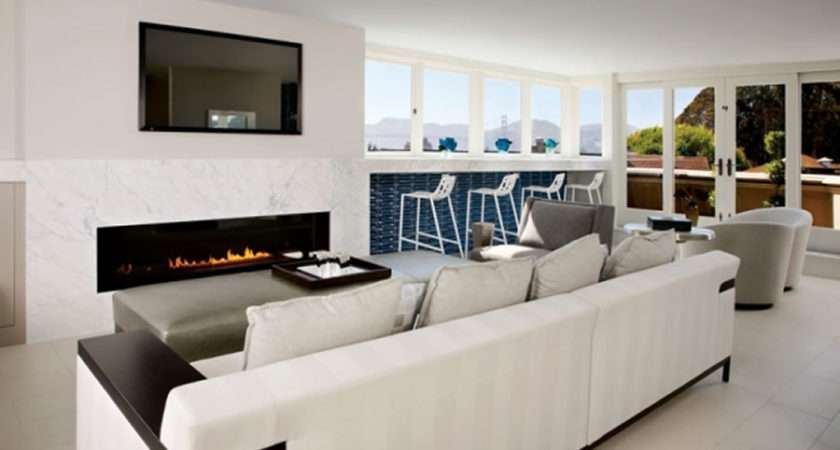 Modern Sophisticated Lounge Interior Design Peter Thiel