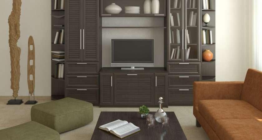 Modern Storage Cabinets Living Room