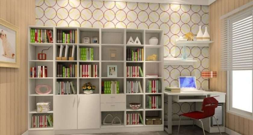 Modern Study Room Interior Design Ideas