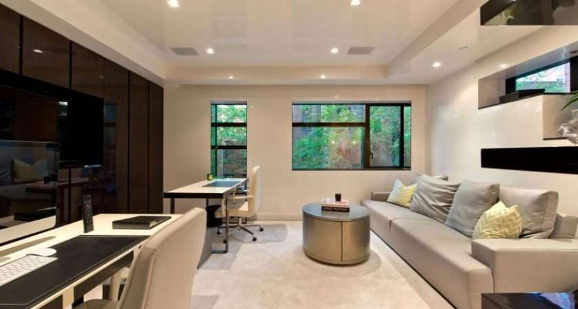 Modern Townhouse Living Interior Design