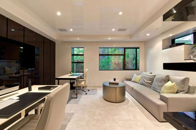 Modern Townhouse Living Interior Design
