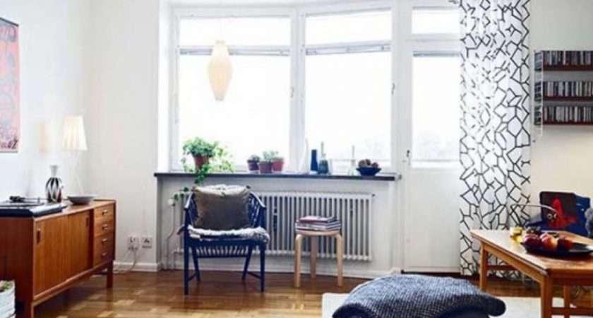 Modern Vintage Apartment Living Room