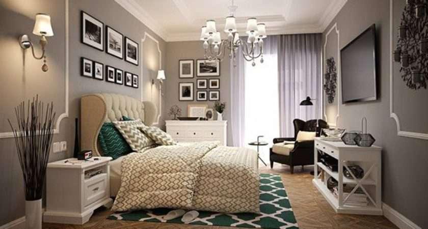 Modern Vintage Glamorous Bedrooms Home Design Lover