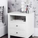 Modern White Bedside Table More Our Elle Range