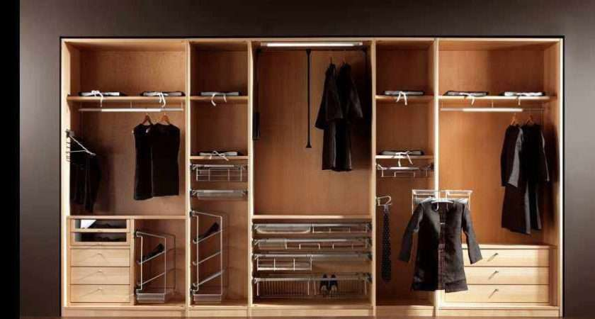 Modern Wooden Wardrobe Designs Bedroom Home Design