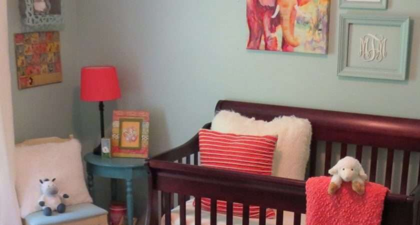 Molly Blue Coral Nursery Project