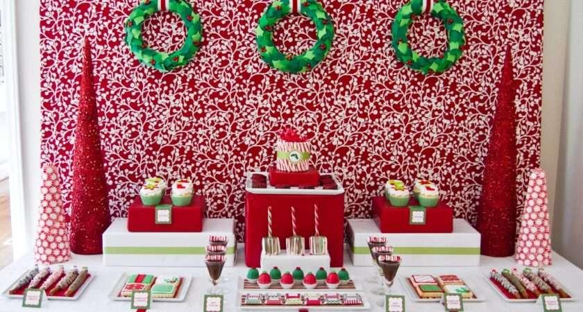 Mon Tresor Christmas Tables Inspirations