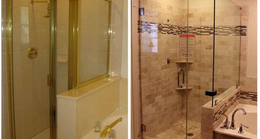 Money Pit Master Bathroom Shower Done