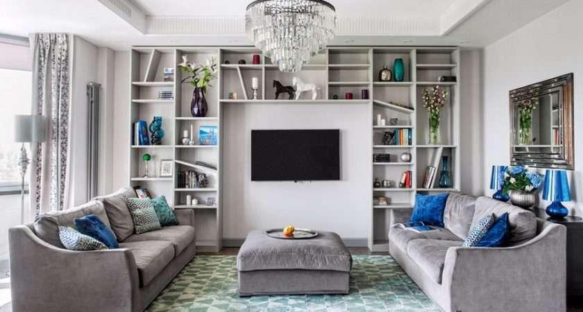 Monochrome Taupe Color Interior Hint Art Deco