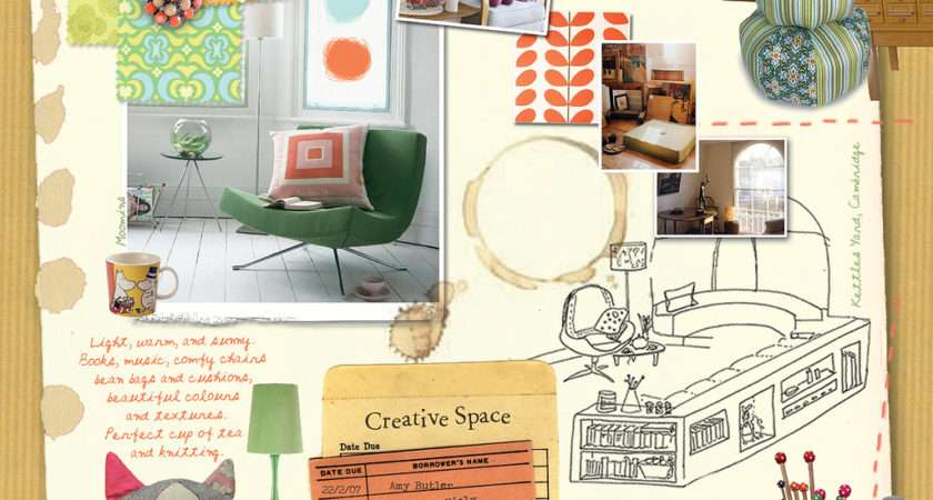 Mood Board Interior Design Sokaci