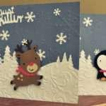 More Cricut Christmas Cards Craftin Van