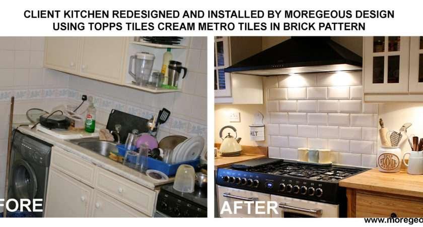 Moregeous Topps Tiles Cream Metro Kitchen