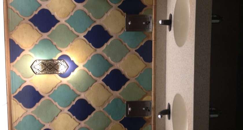 Moroccan Bathroom Tiles Giverny Deux Pinterest