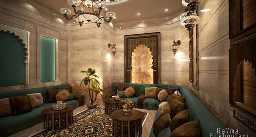 Moroccan Sitting Room Behance