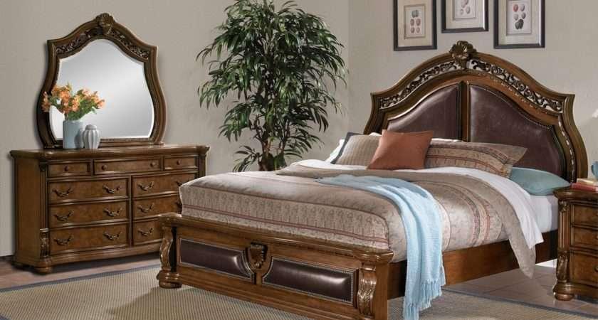 Morocco Piece King Bedroom Set Pecan Value City