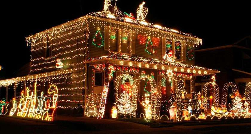 Most Decorated Christmas Homes America Popsugar Home