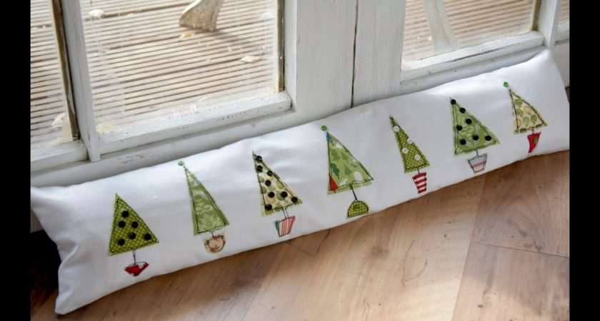 Motion Christmas Tree Draught Excluder Tutorial