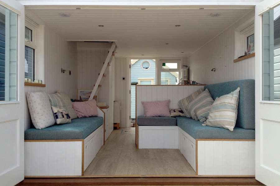 Mudeford Beach Hut Interior Design Ecologic