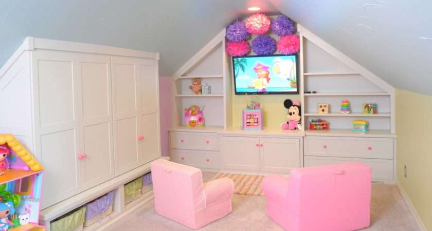 Mullet Cabinet Colorful Playroom