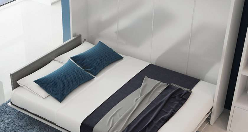 Multimo Double Upholstered Murphy Bed