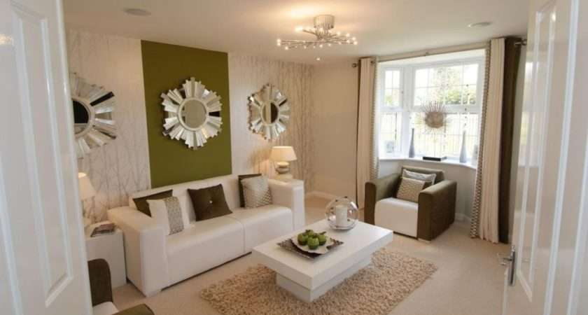Narrow Living Long Furniture Arranging
